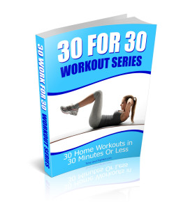 30 For 30 Workout Series Book Cover