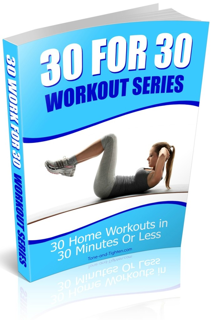 30 For 30 Workout Series Book Cover Tight Crop