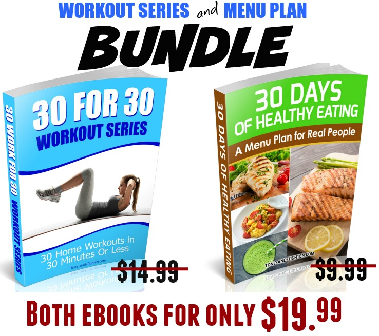 30 For 30 and Menu Plan eBook Bundle