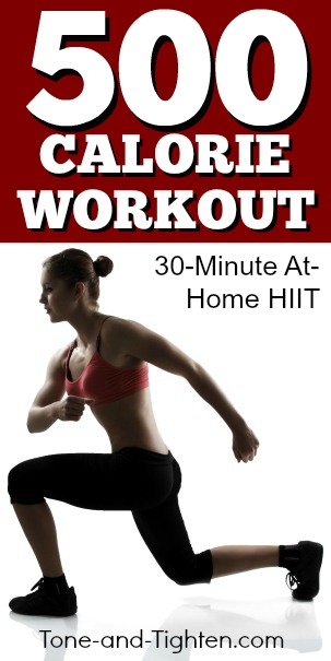 500-calorie-at-home-interval-workout-pinterest