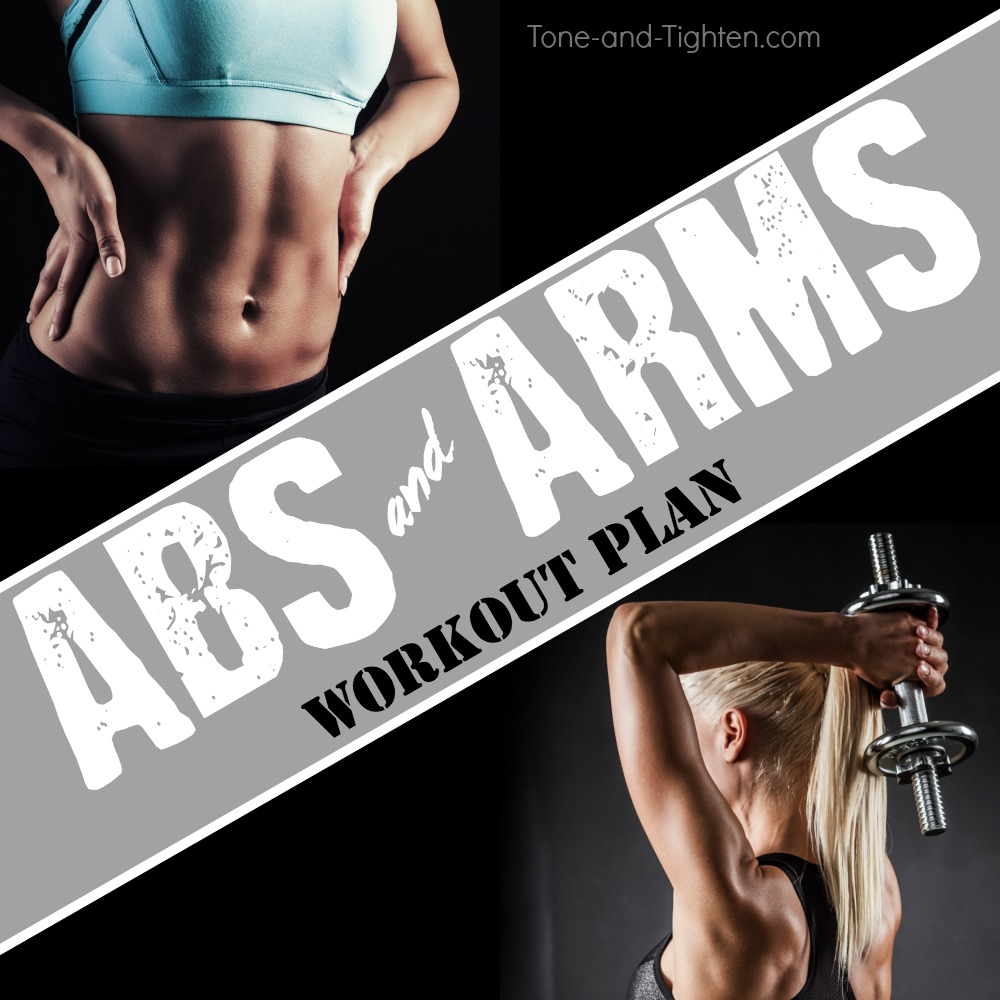 abs and arms weekly workout plan