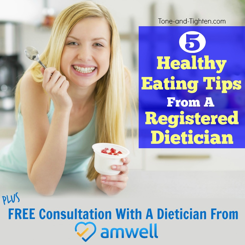 healthy eating questions dietician amwell