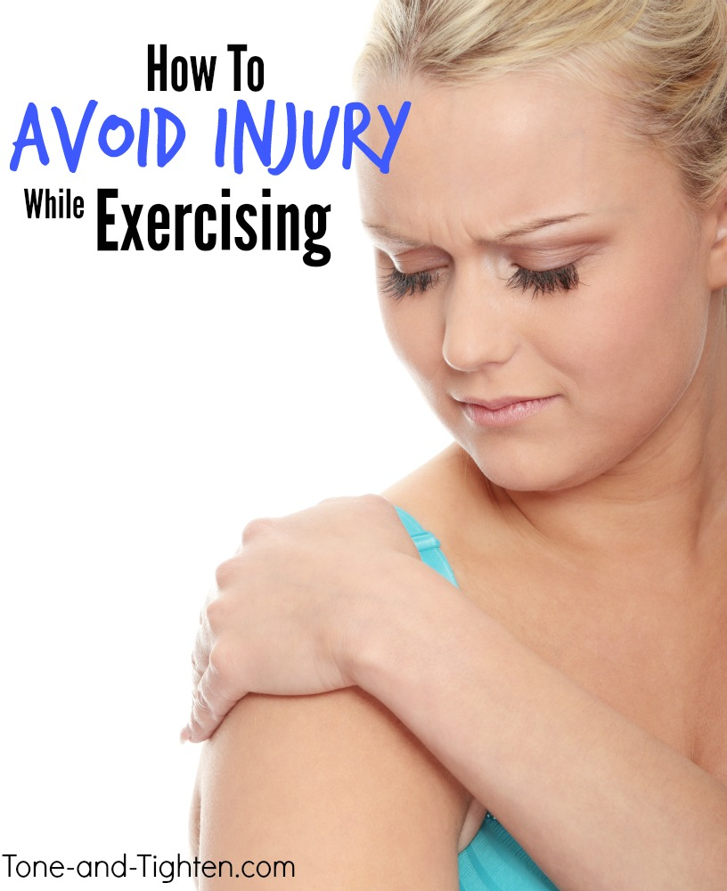 how to avoid injury exercise