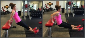 triceps dips exercise
