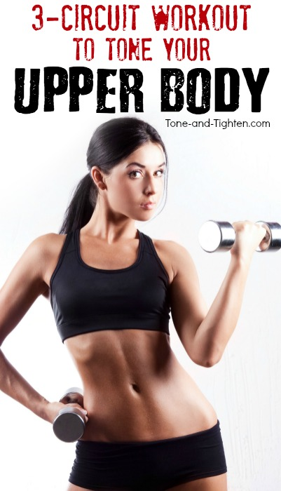 6 of the best upper body workouts to tone and tighten your arms, shoulders, and back! | Tone-and-Tighten.com