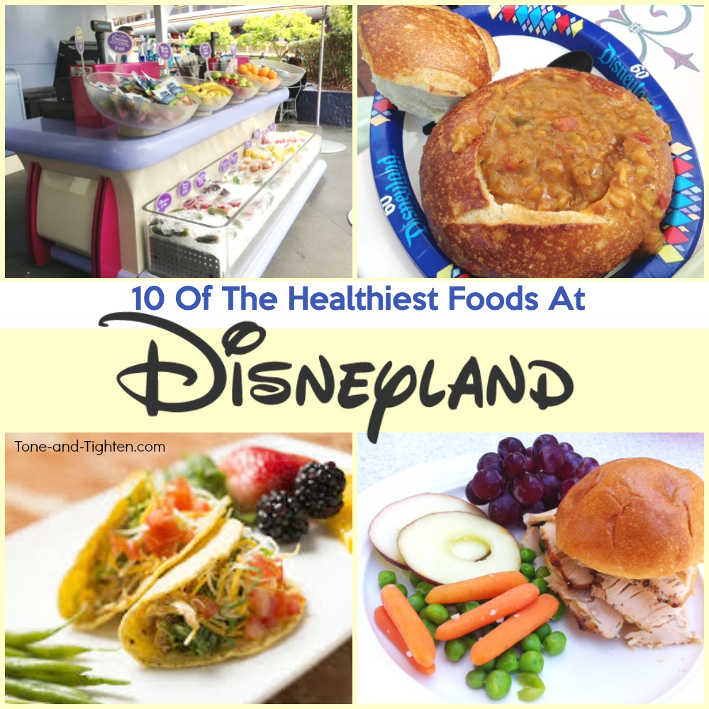 healthy food in disneyland park