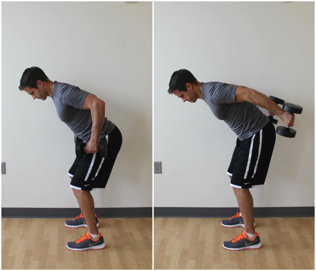 triceps kickback exercise