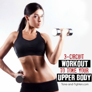 upper body circuit workout with weights