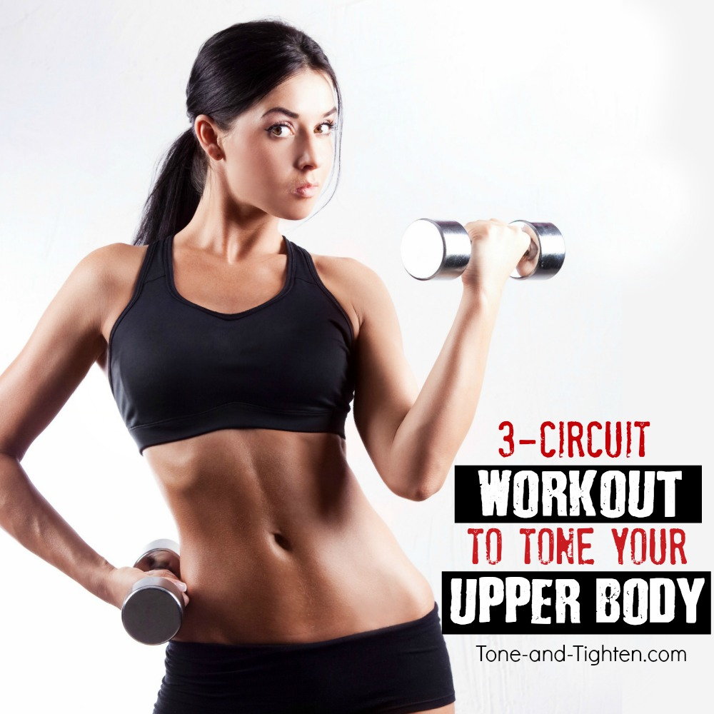 At Home Workout To Tone Your Upper Body Tone And Tighten