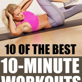 10 of the best 10-minute workouts at home