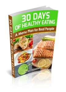 30 Days of Healthy Eating cover