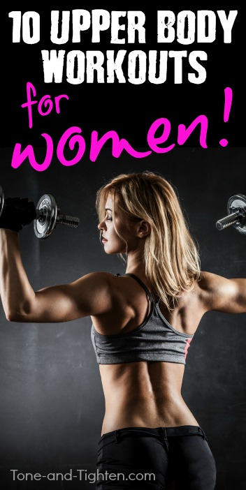 best upper body workouts for women pinterest