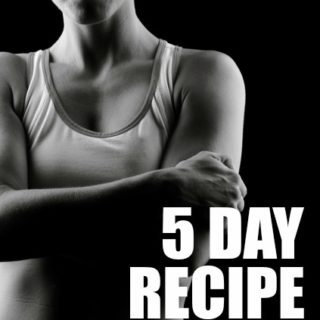 free workout and healthy recipe menu plan pinterest