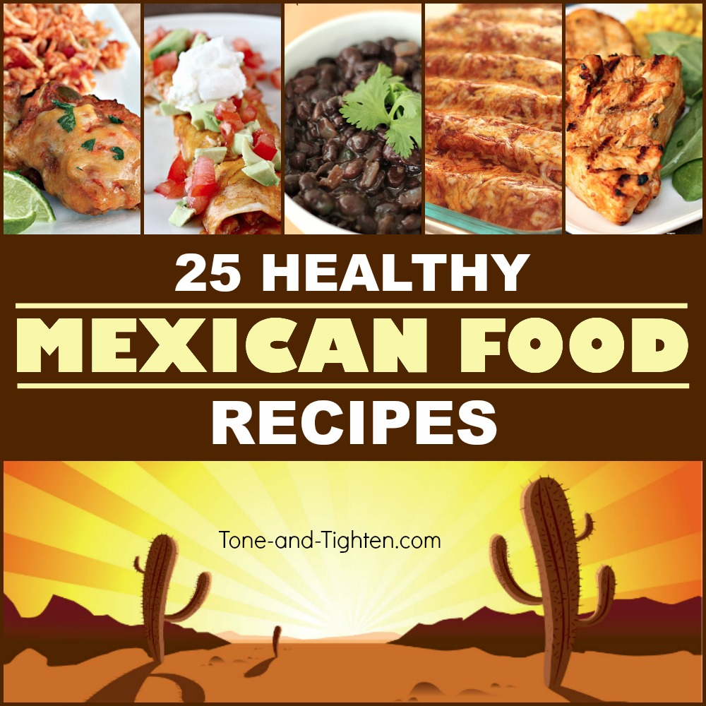 healthy mexican food recipe meal
