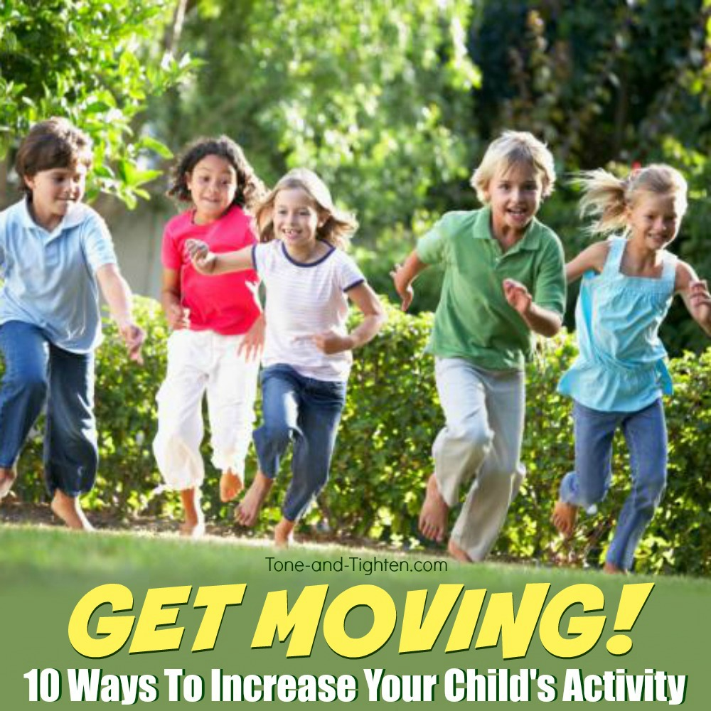 how to increase child's activity 2