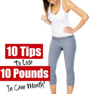 how to lose 10 pounds in a month