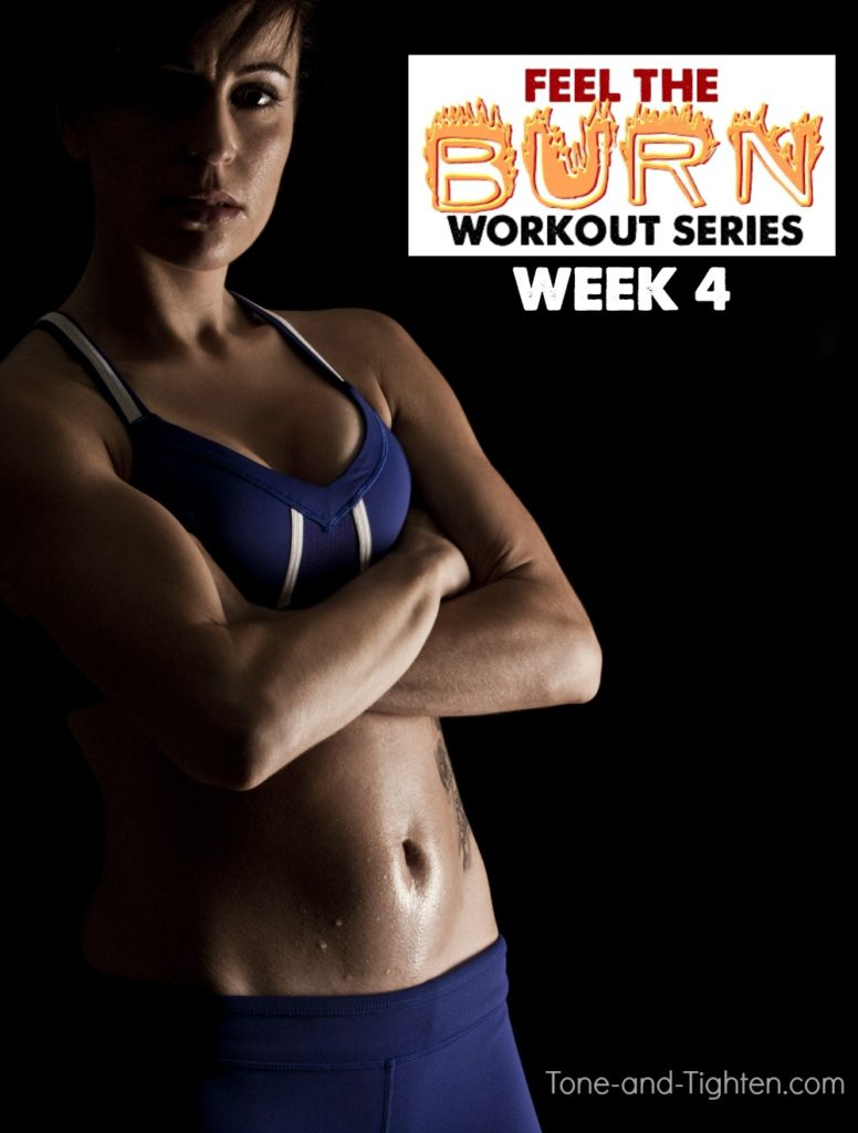 Perfect workout series to to tone and tighten your body for the summer! Week Four workouts from the