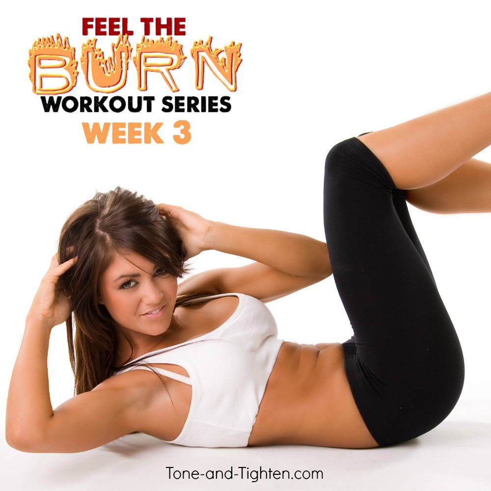 summer workout plan week 3 tone tighten