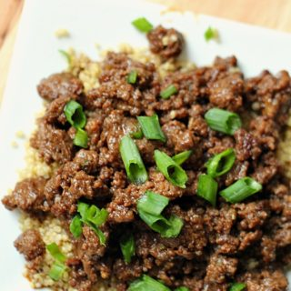 Korean Beef and Quinoa on Tone-and-Tighten.com