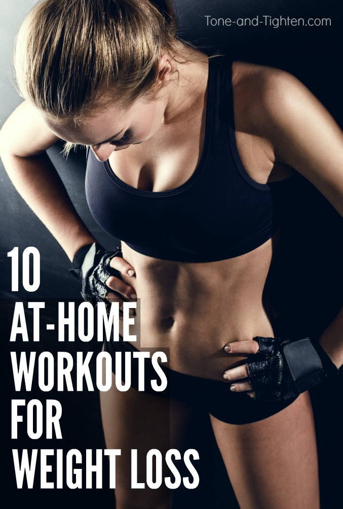 10 of the best workouts you can do at home to help you lose weight | Tone-and-Tighten.com