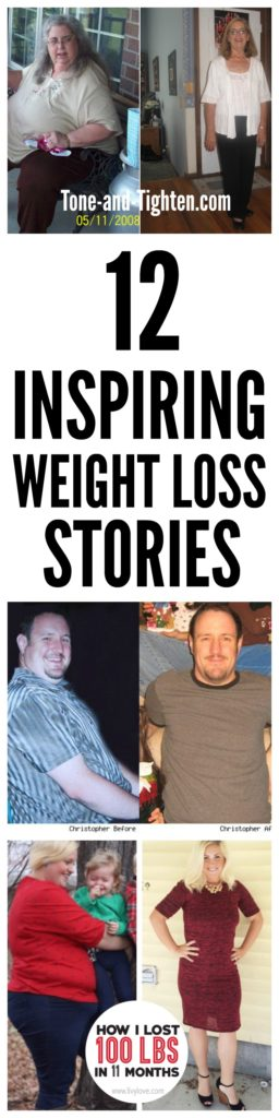12 Inspiring Weight Loss Stories on Tone-and-Tighten