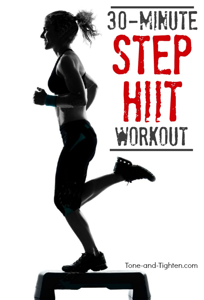 Step Workout: Total Body Step HIIT Workout