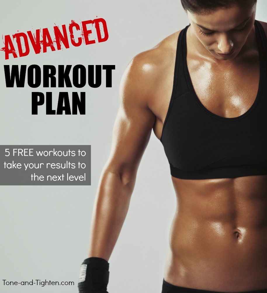 advanced workout plan at home