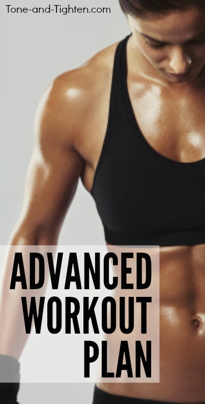 5 great advanced workouts to take your results further than you ever thought possible! Tone-and-Tighten.com