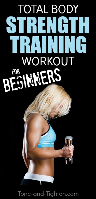 Strength training workout for beginners PLUS 20% off select Polar products! From Tone-and-Tighten.com