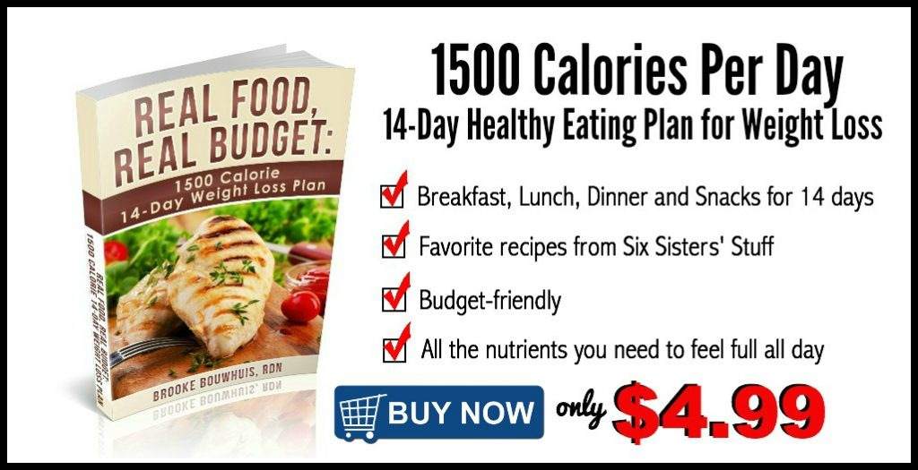 1500 Calorie 14-Day Healthy Eating Plan | Tone and Tighten