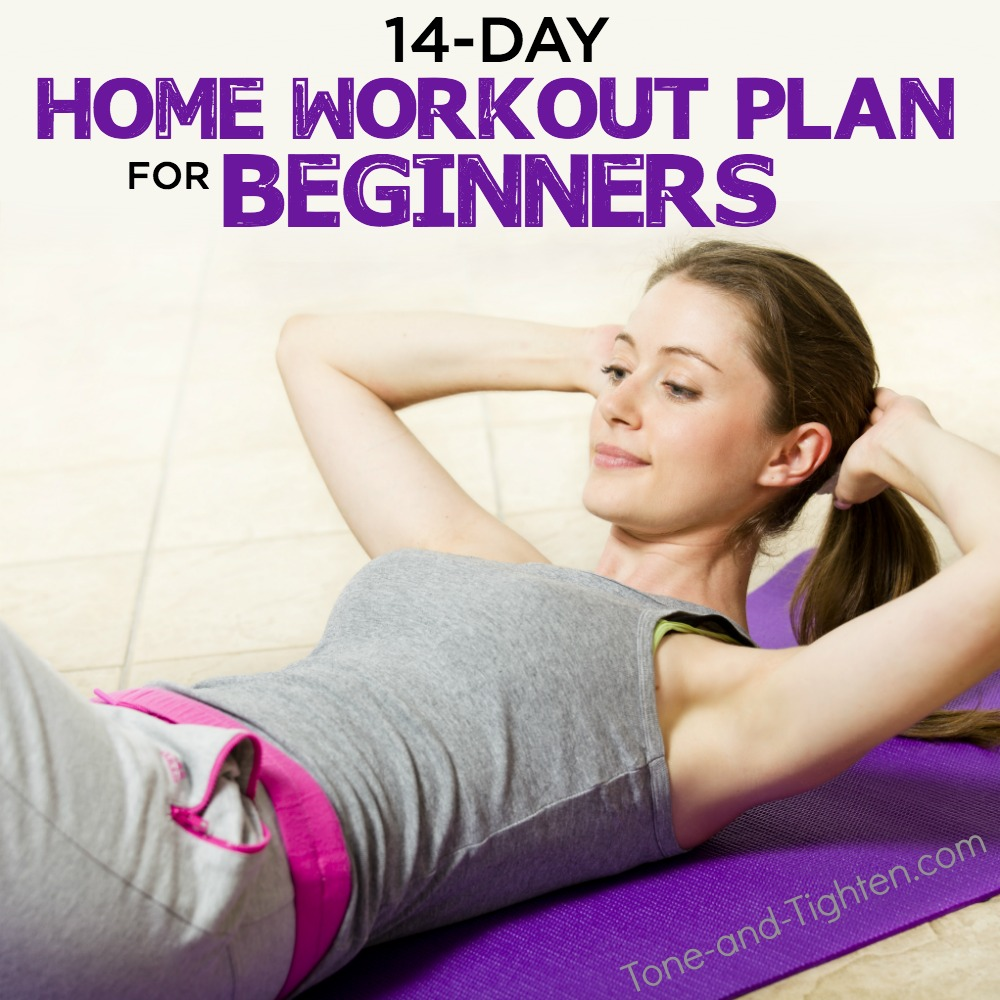 Free At Home Workout Series Plan For Beginners