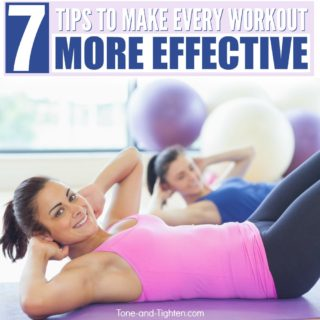 how to make workout more effective