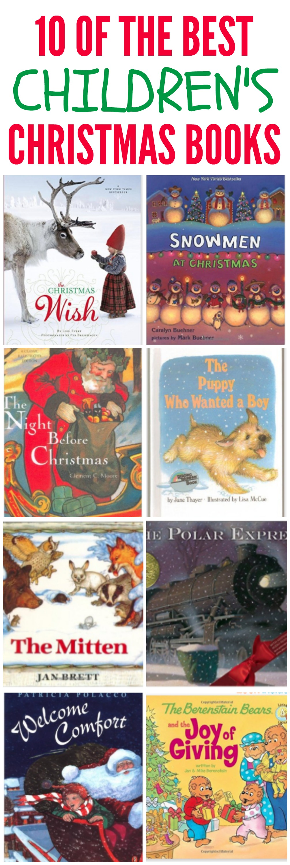 10 of the best childrens christmas books