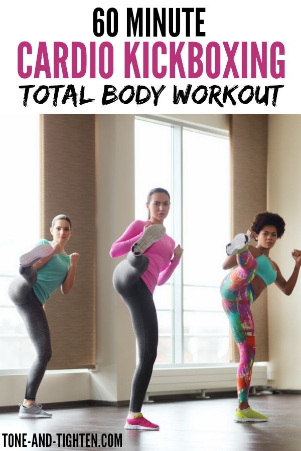60-minute-cardio-kickboxing-workout