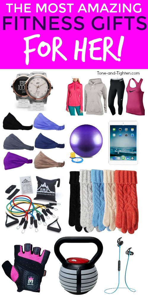 15 of the hottest fitness gifts for her! From
