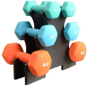 set of dumbbells for at home workouts