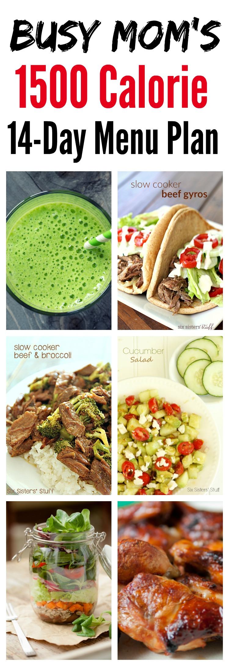 healthy eating for busy moms   1500 calorie plan tone