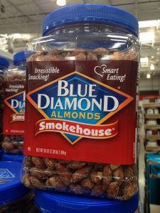 healthy costco snack - smokehouse almonds