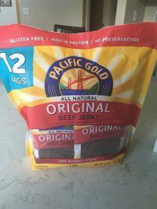 healthy costco snack - beef jerky