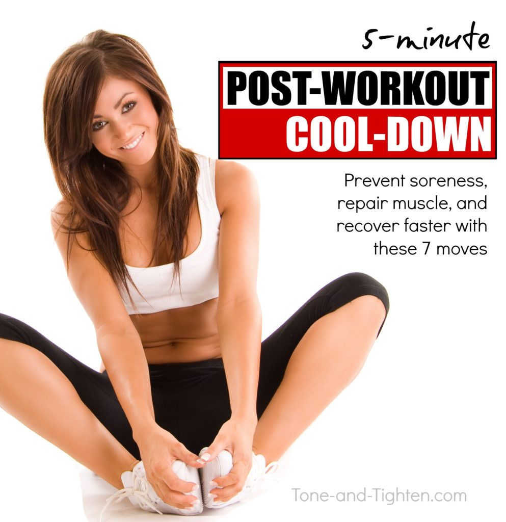Post workout cool down stretching routine - the best exercises to help you recover after exercise | Tone-and-Tighten.com