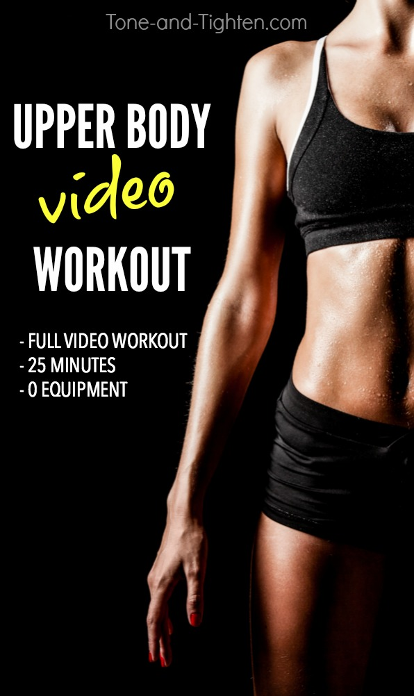 upper body bodyweight exercises pdf