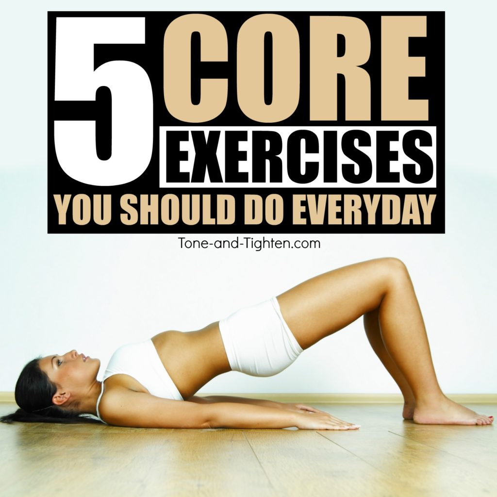 Best Core Exercises You Can Do At Home Tone And Tighten