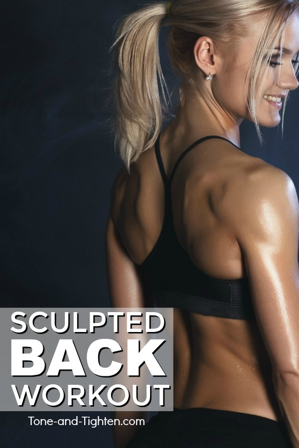 Awesome at-home back workout with no equipment required! Bodyweight back exercises - no pull-ups | Tone-and-Tighten.com