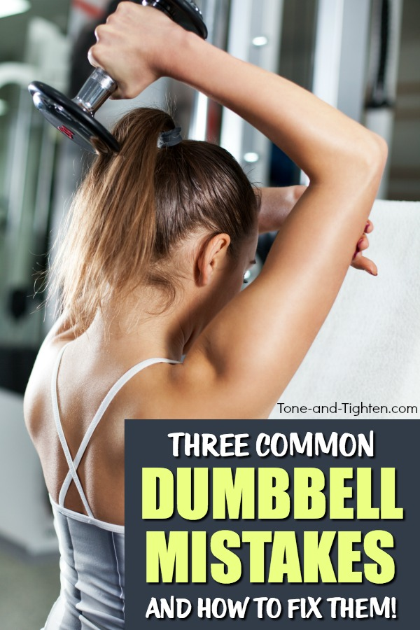 3 of the most common dumbbell exercise mistakes - and what you can do to fix them!
