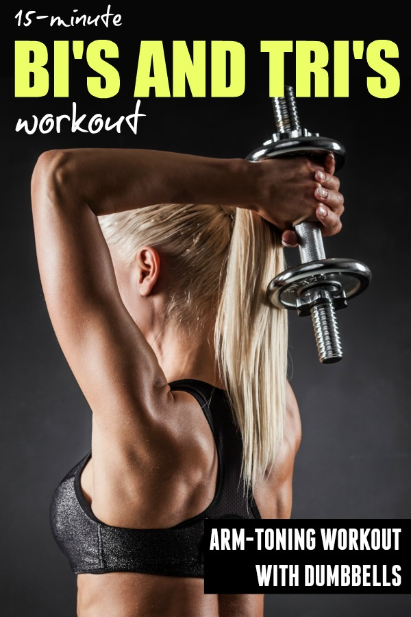 15- Minute Dumbbell Arm Workout – Biceps and Triceps