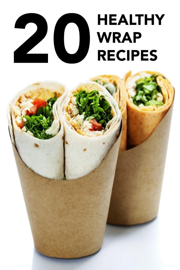 20 Easy Healthy Wrap Recipes Tone And En
