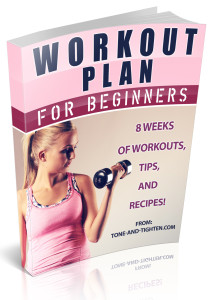 8 Week Beginner's Workout Plan ebook cover