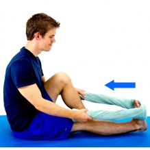 how to stretch out tight hamstrings  tone and tighten