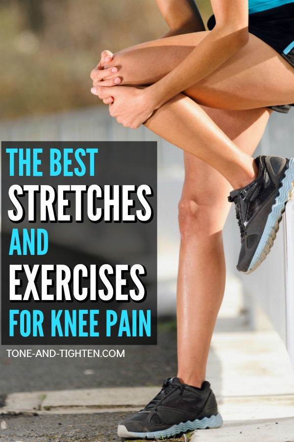 The best stretches and exercises for knee pain