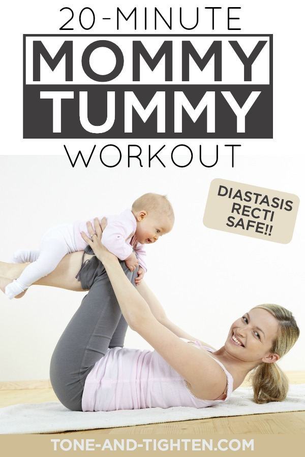 20-Minute Ab Workout After Baby - Eliminate mom belly with these at home exercises